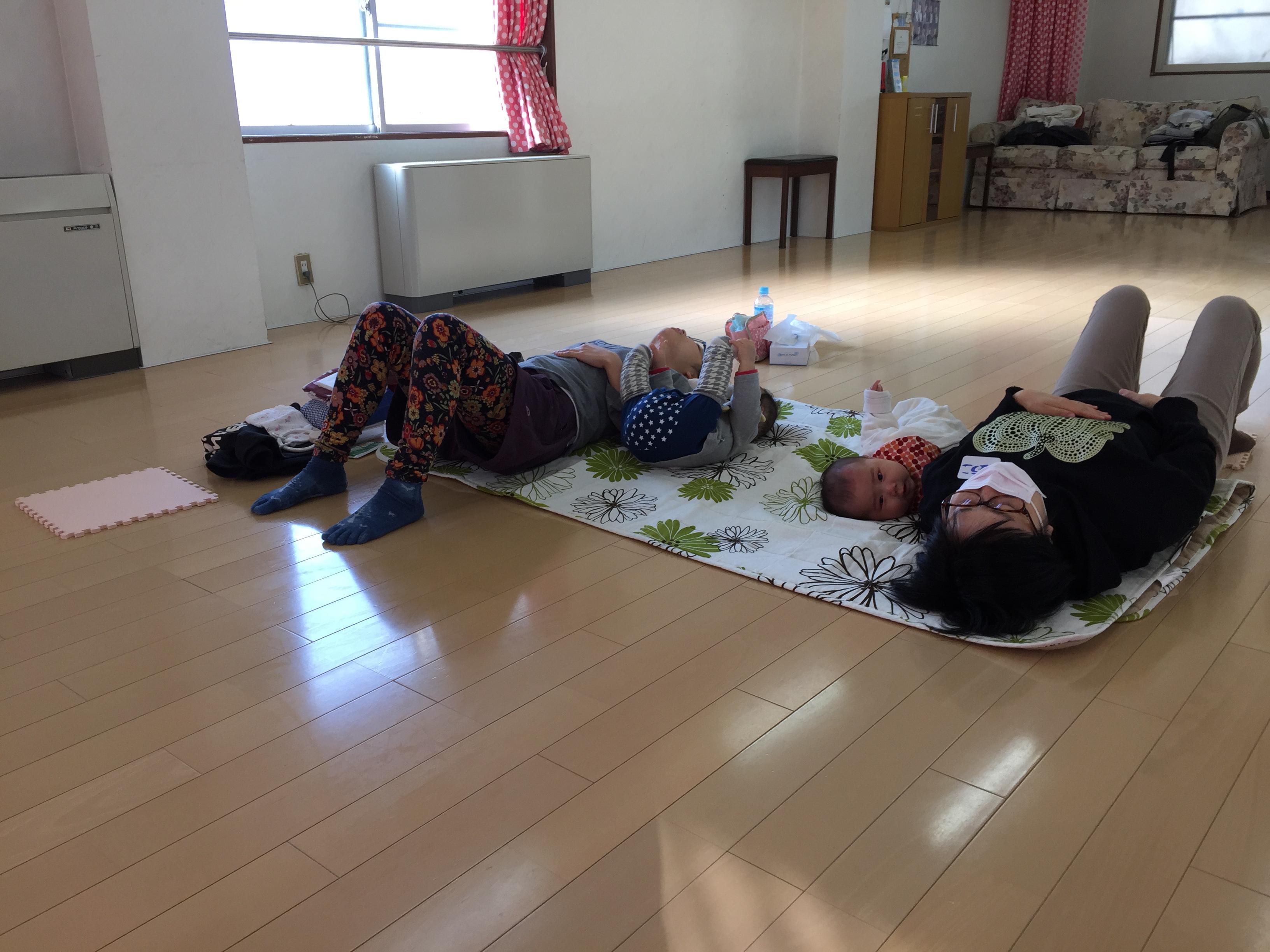 【長岡産後ケア教室ご感想】赤ちゃんと一緒にできる産後の骨盤ケア