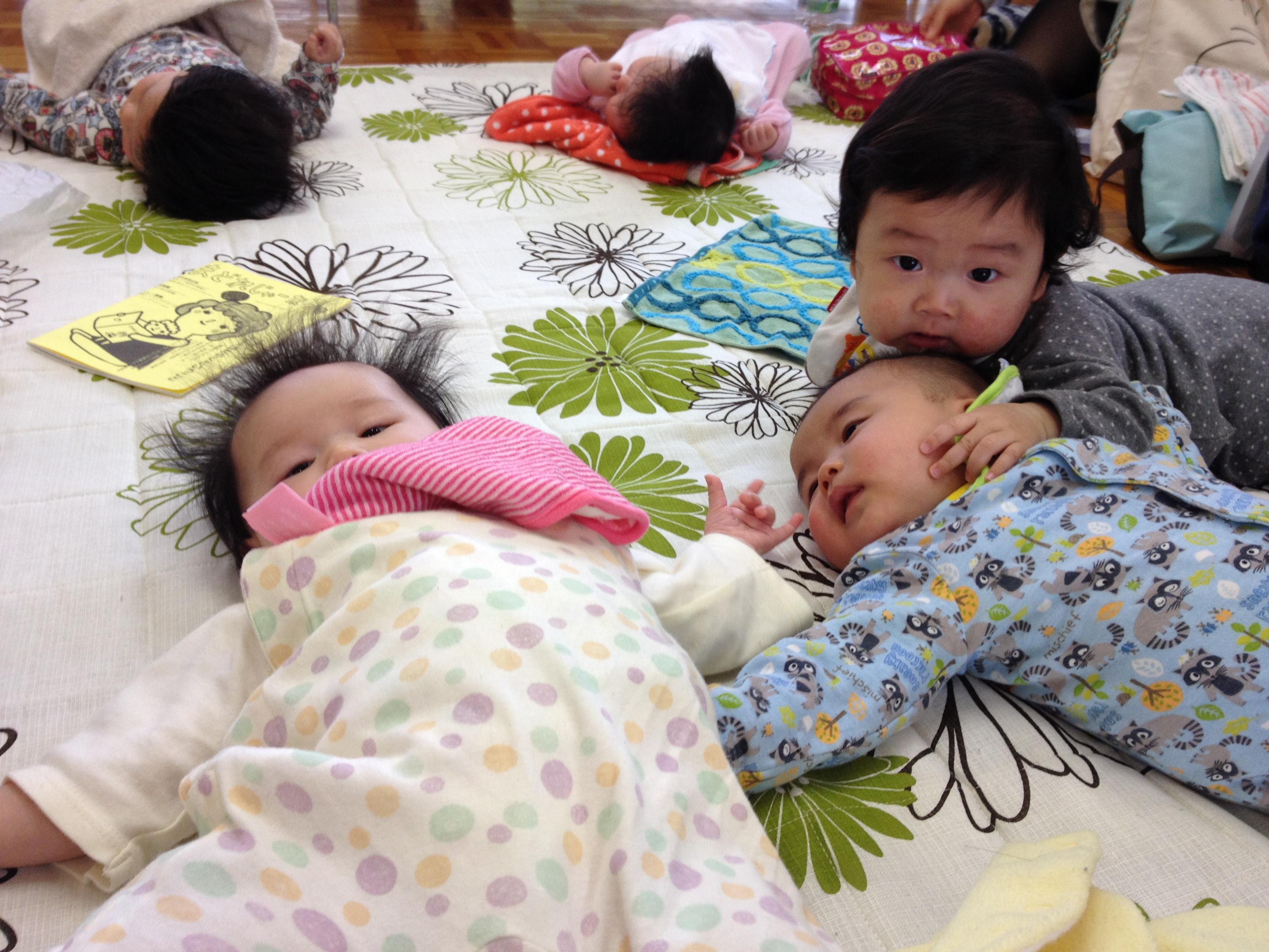 産後のボディケア&フィットネス長岡教室は託児付きになります!!