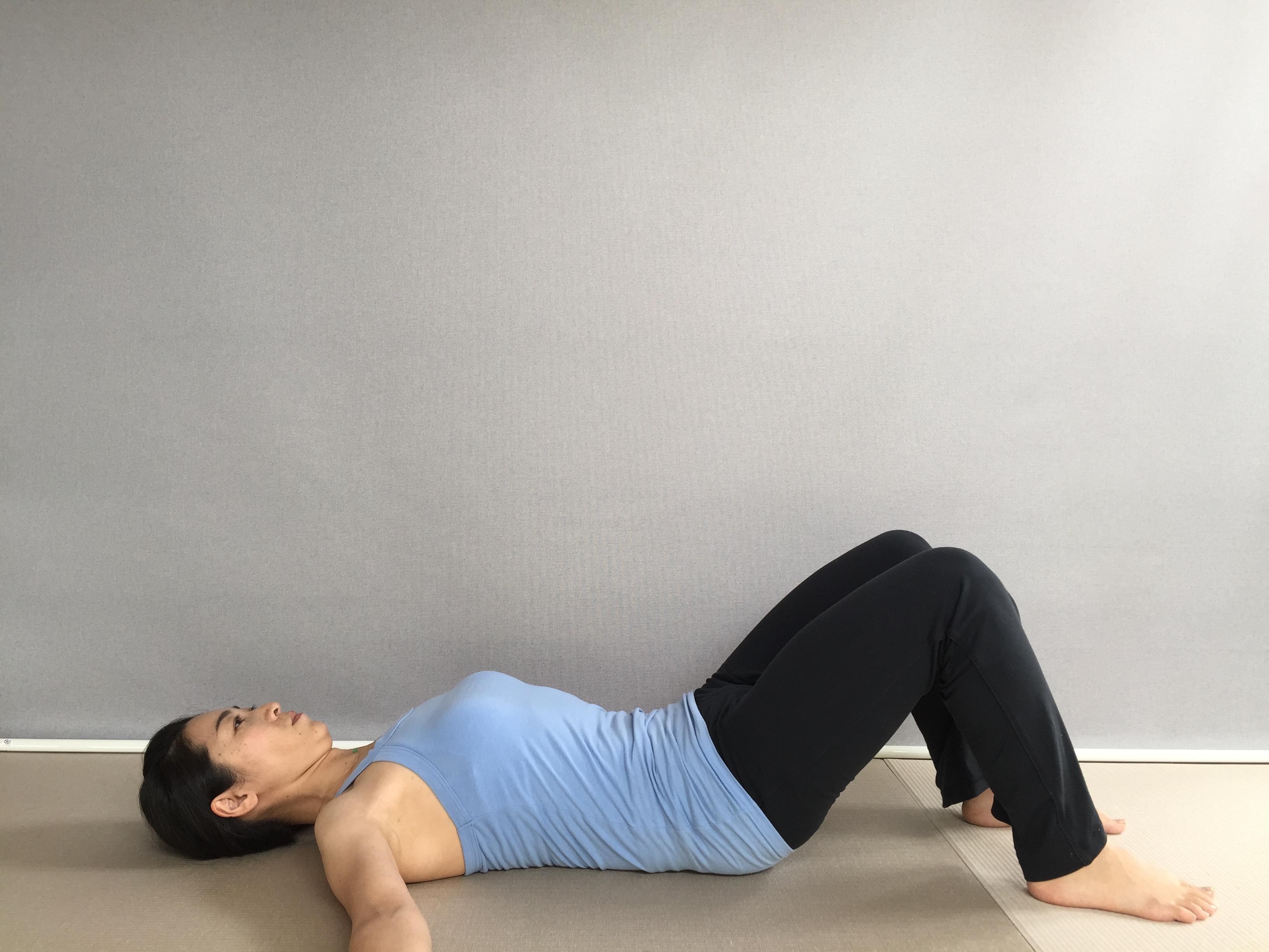 産前産後の体を緩め緊張と不安をほぐしぐっすり眠れる、骨盤呼吸法
