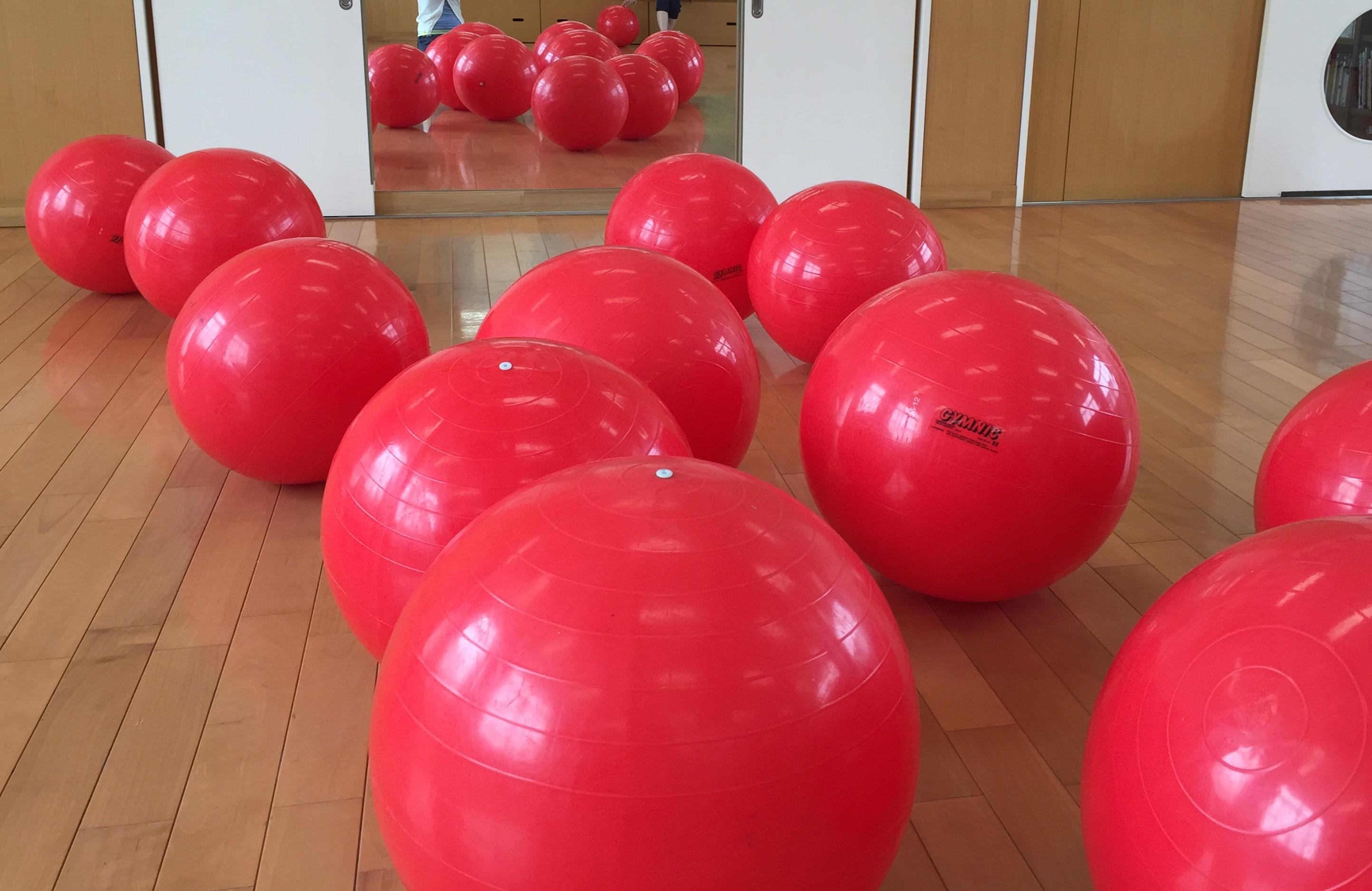 【託児付き】3/22 お腹の引き締めに効く!はじめてのバランスボールエクササイズ@長岡