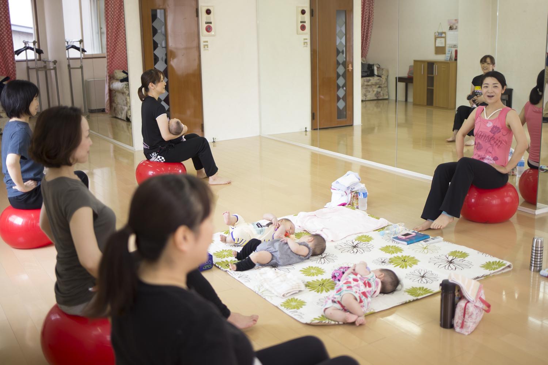 【変更のお知らせ】冬のスペシャル企画!産前産後のバランスボールとココロケア講座@新潟桜木