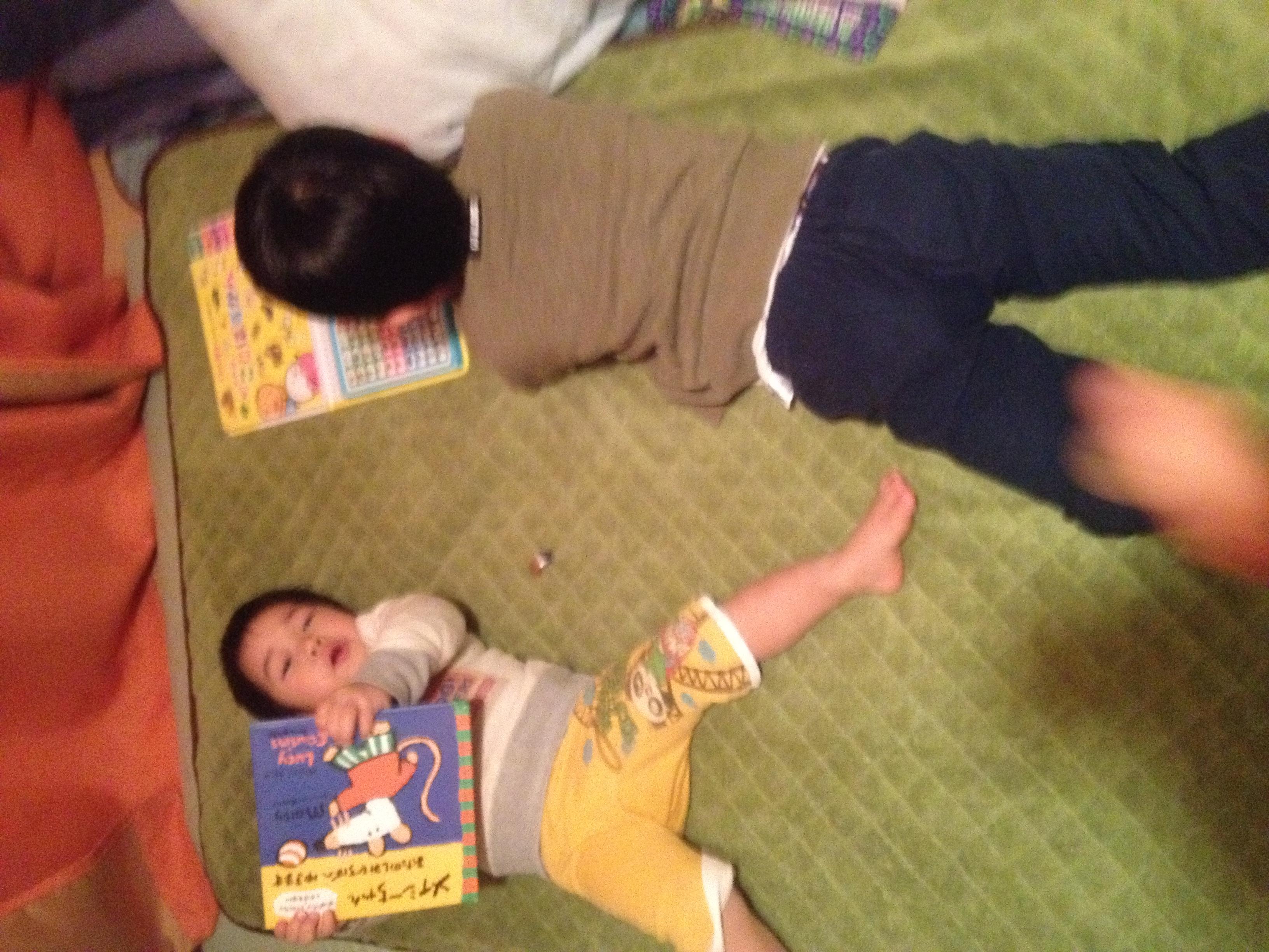 久しぶりに次男と一緒に寝て、学んだこと。