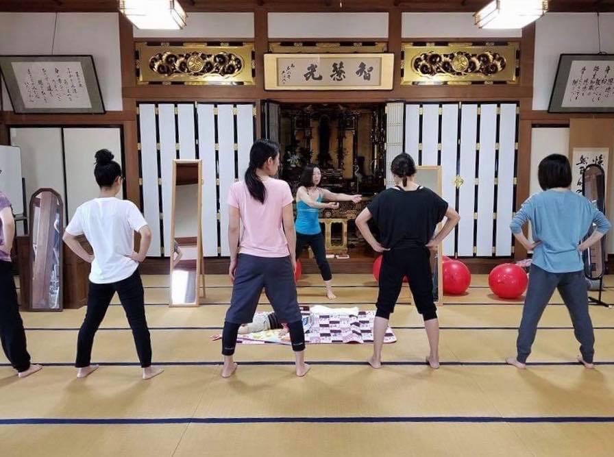 【受付中!】3/10 お寺でバランスボール&ボディメイク